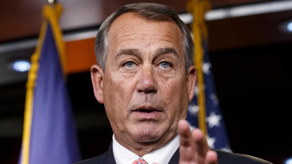 GOP rebellion tries to oust Speaker John Boehner