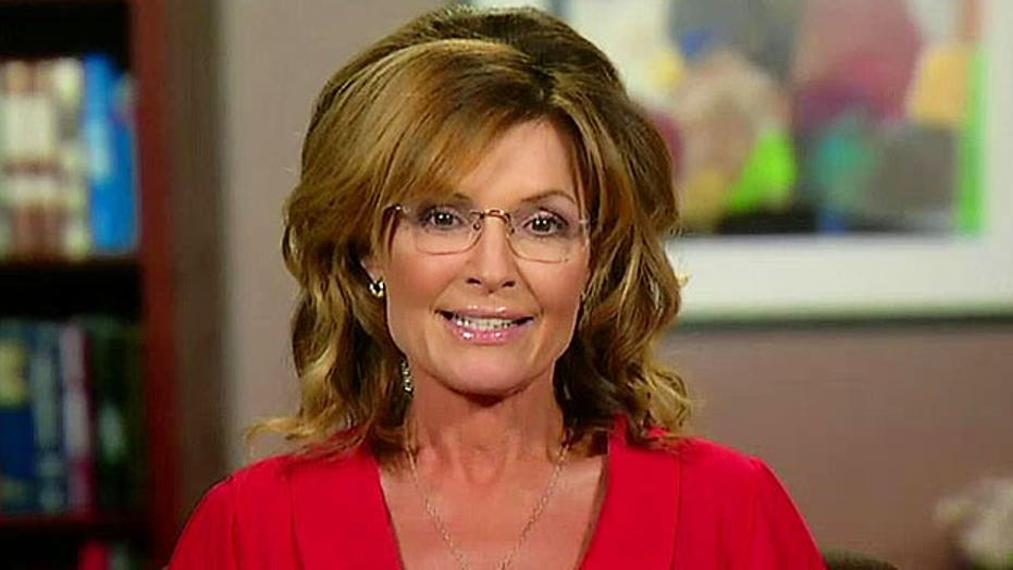 Sarah Palin makes provocative comparison