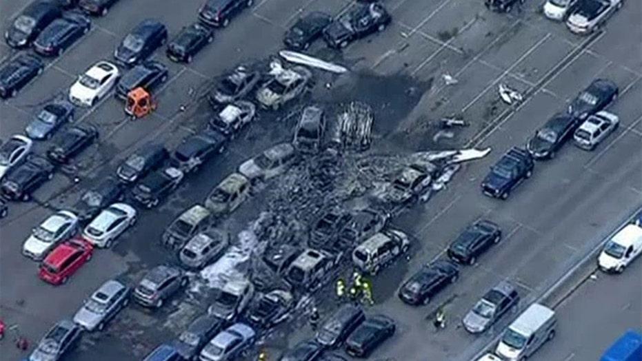 Small plane crash kills members of bin Laden's family
