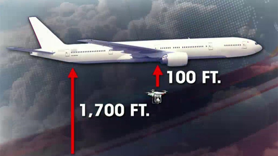 Drone has a close call with passenger plane