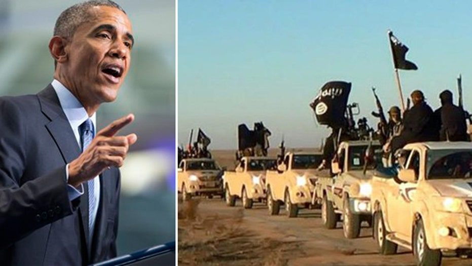 ISIS calls for Armageddon; Obama calls ISIS 'murderers'