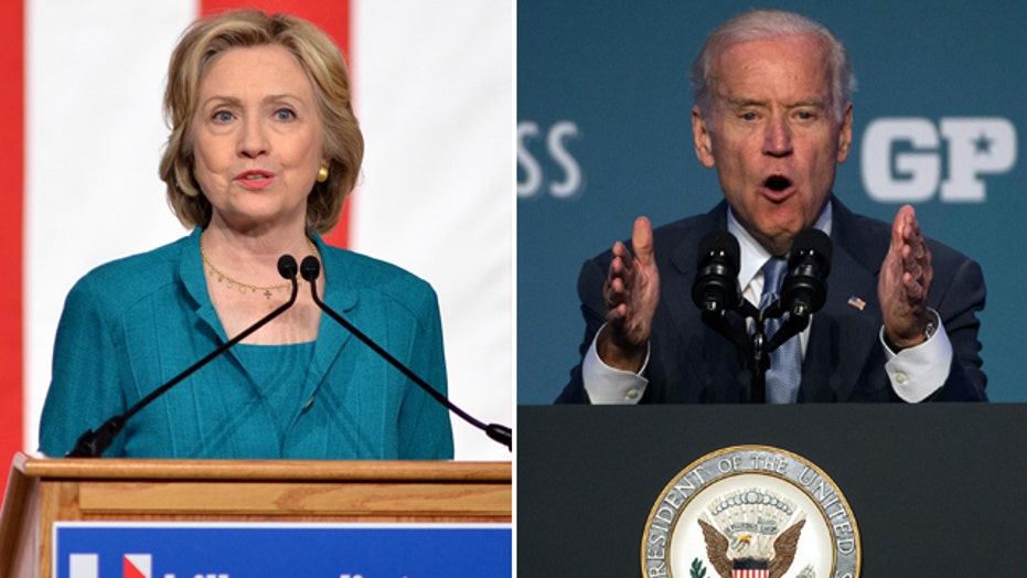 Is Joe Biden more trustworthy than Hillary Clinton?