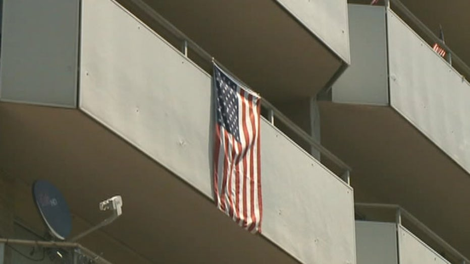 Veteran wins fight to display American flag