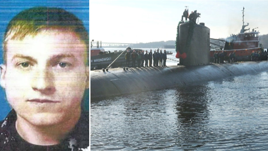 US sailor accused of taking photos inside sub