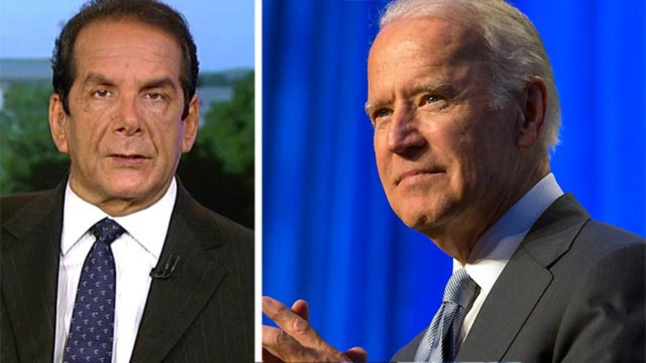 Krauthammer: Biden will get in the race