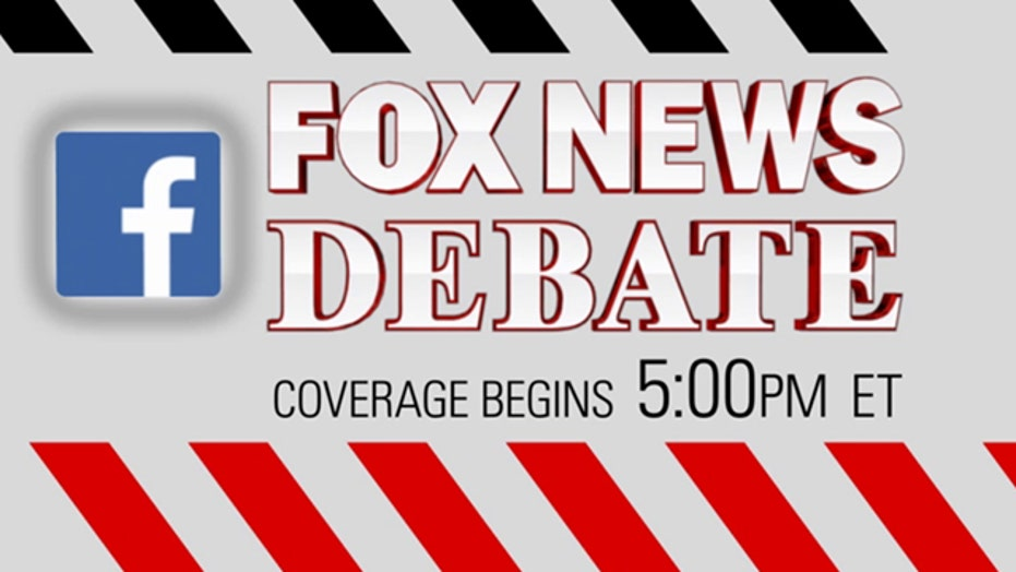 The first GOP presidential primary debate is on Fox News