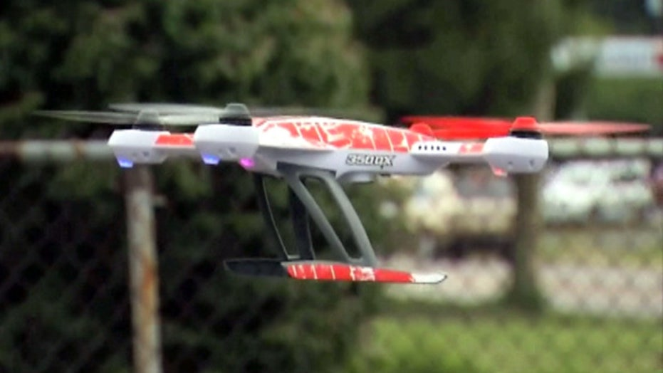 Drone drops drugs in Ohio prison yard