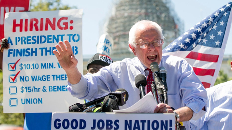 Poll: Bernie Sanders gains ground in New Hampshire