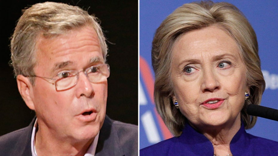 Clinton jumps on Bush comments on women's health