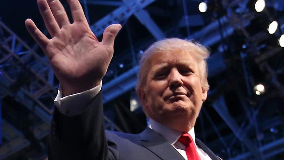 Trump doubles-down on his own 'Trump card'