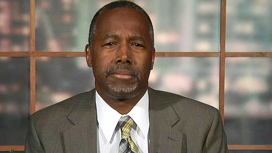 Dr. Ben Carson says voters recognize a 'failed policy'