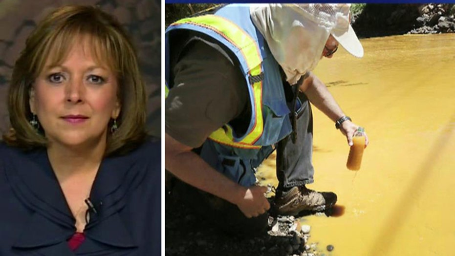 New Mexico governor slams EPA over toxic mine spill