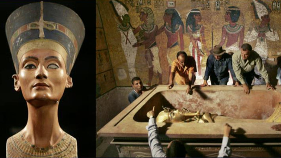 Could Egyptian queen Nefertiti be hidden in King Tut's tomb?