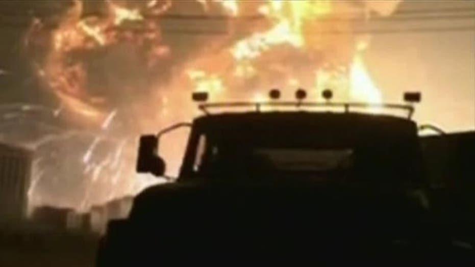 Report: Hundreds injured in massive China blasts