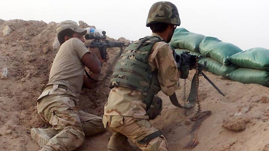 Pentagon: Iraqi forces preparing to retake Ramadi