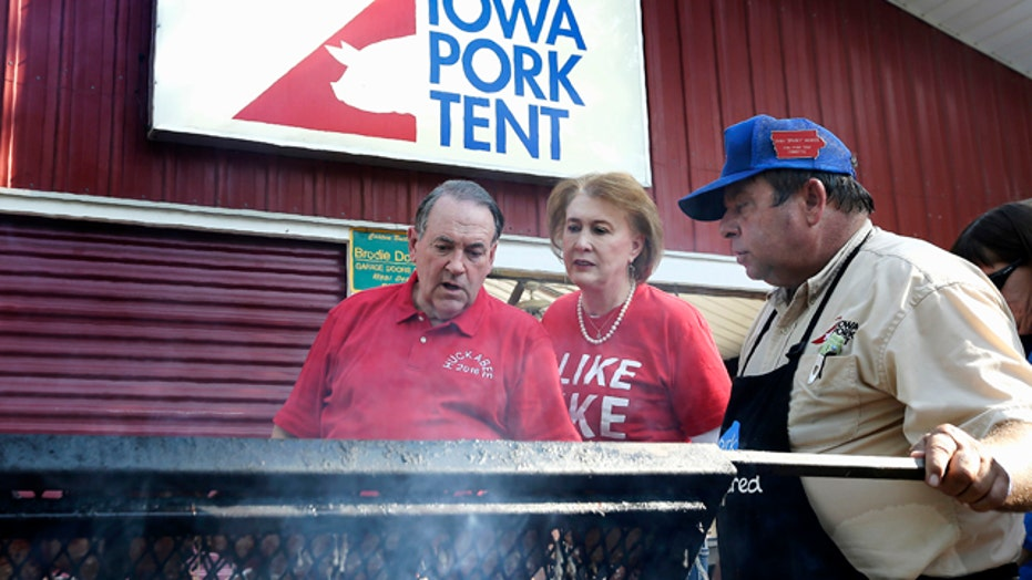 Parade of Republican candidates head for Iowa State Fair