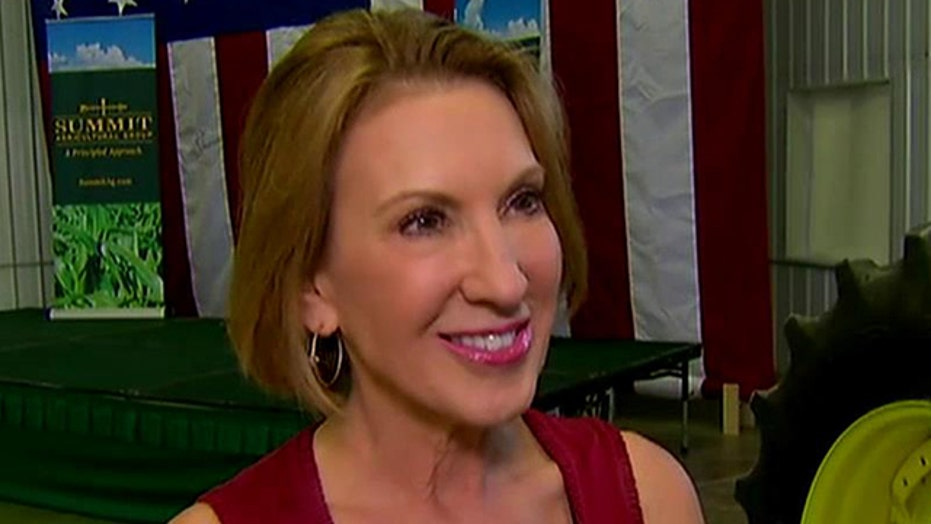 Carly Fiorina surging in polls after GOP debate