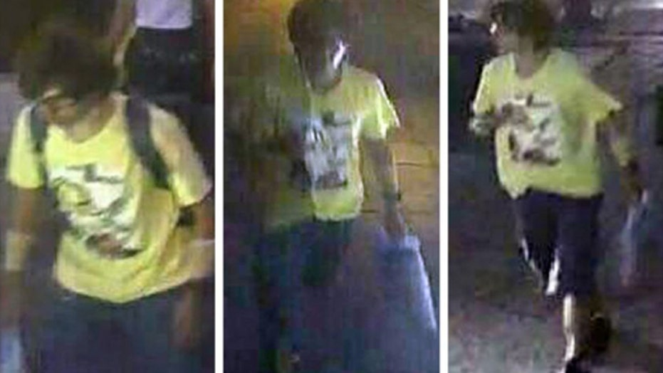 Thai police say man seen on video is bomber