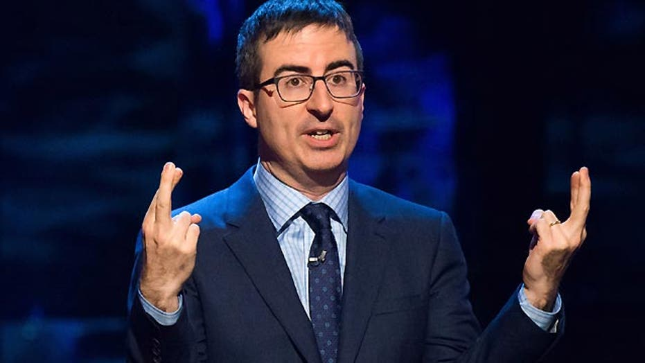 John Oliver takes on televangelists by forming own church