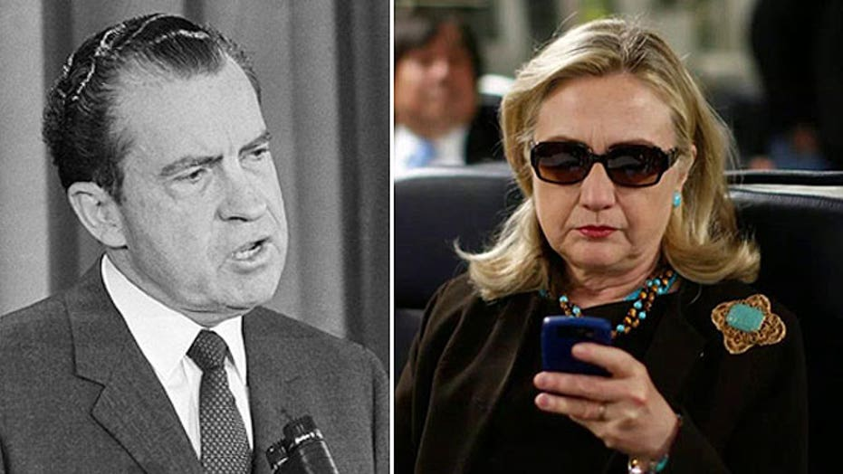 Can Hillary Clinton escape the Richard Nixon parallels?