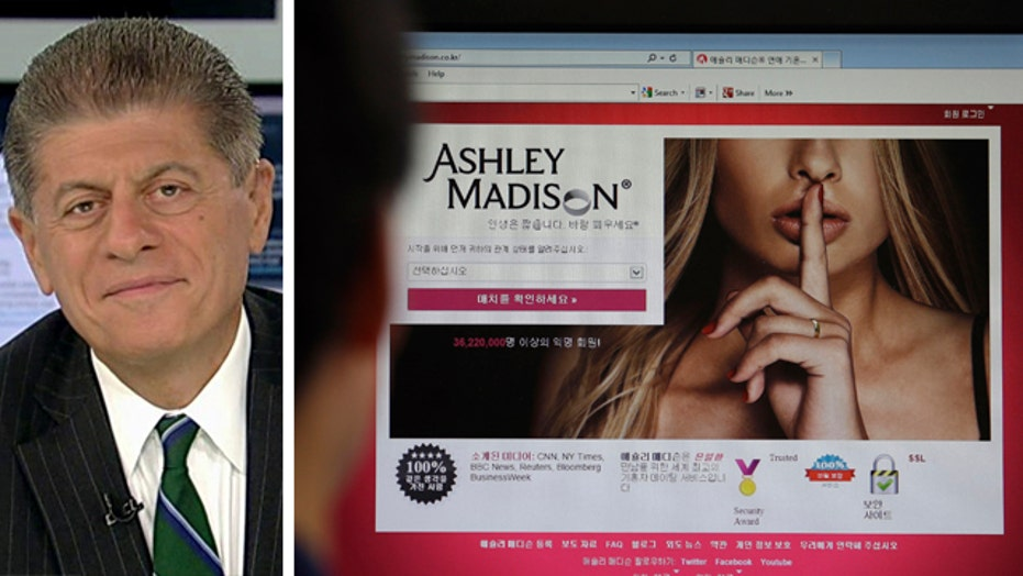 Judge Napolitano on fallout from Ashley Madison data breach