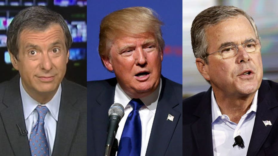 Kurtz: Why The Donald is trumping Jeb Bush