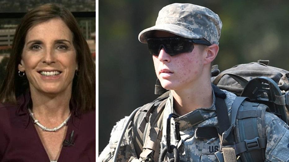 Rep. McSally praises women set to make Army Ranger history