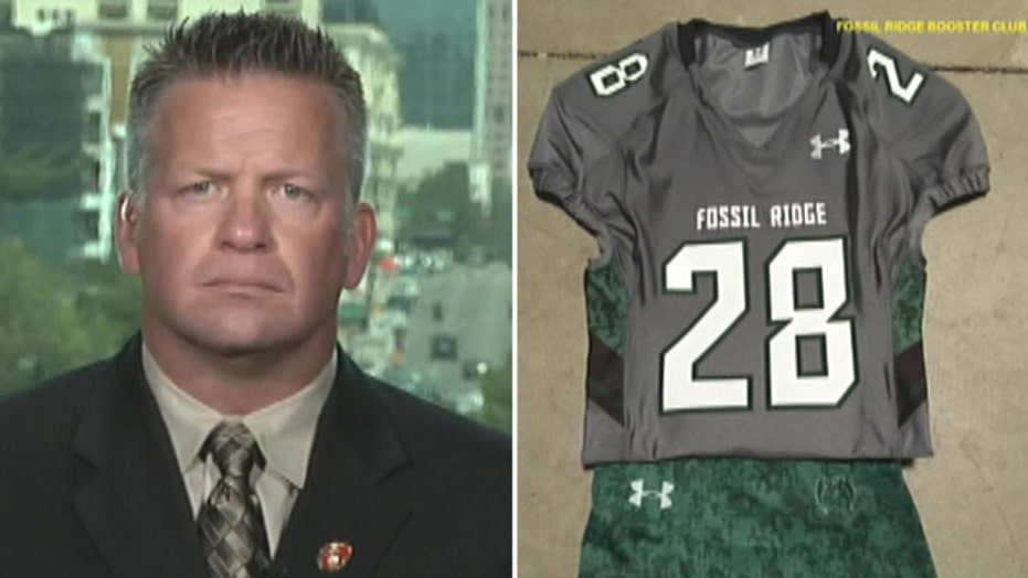 High school team denied request to honor military on jerseys