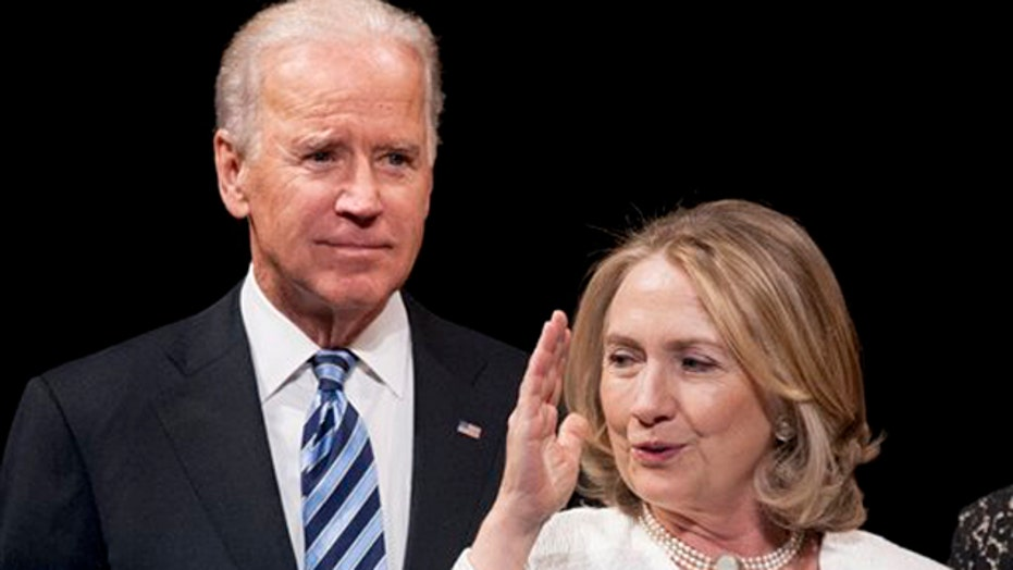 Does Biden see opening with Clinton's email controversy?