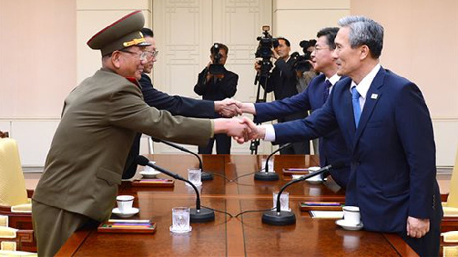 North and South Korea hold high-level talks
