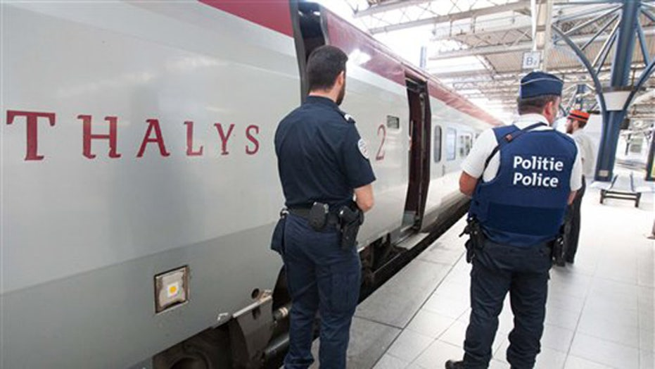 Does airport-level security need to be in place on trains?