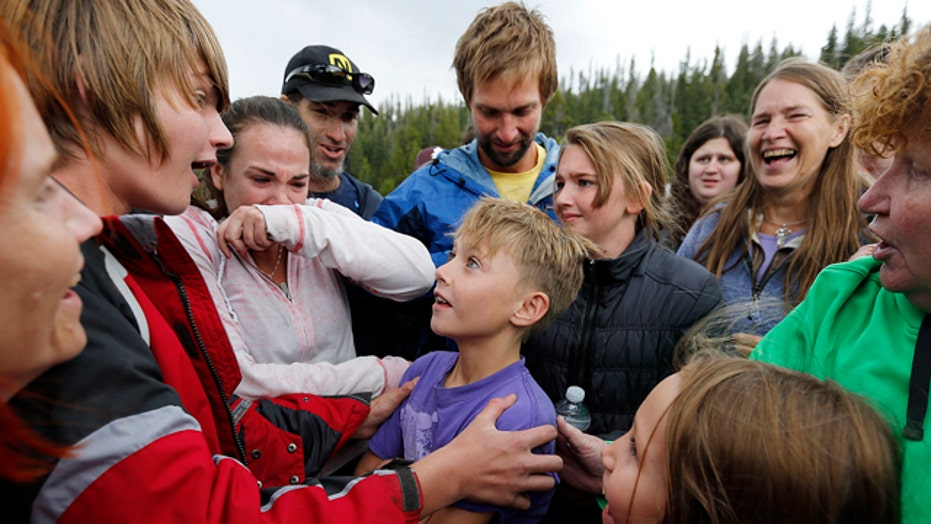 Boy found alive after disappearing in Utah mountains