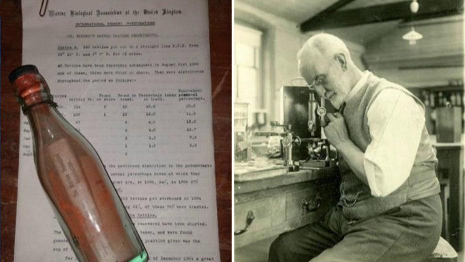 Return to sender: World's oldest message in a bottle found