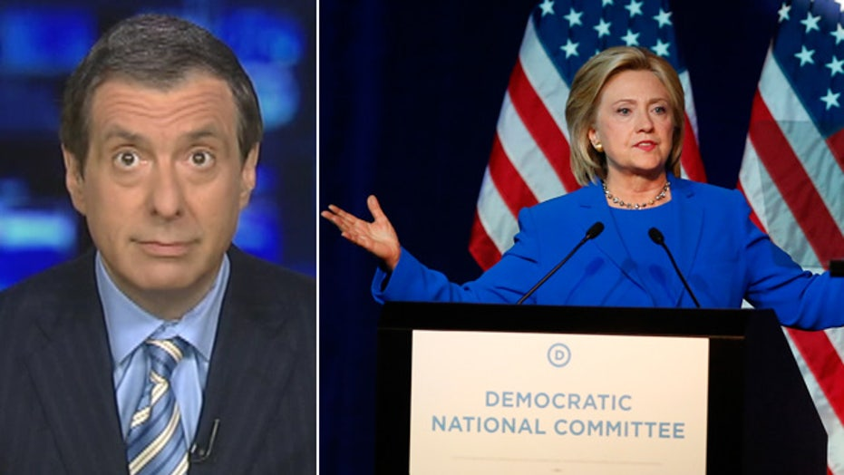 Kurtz: Hillary goes nuclear, little fallout