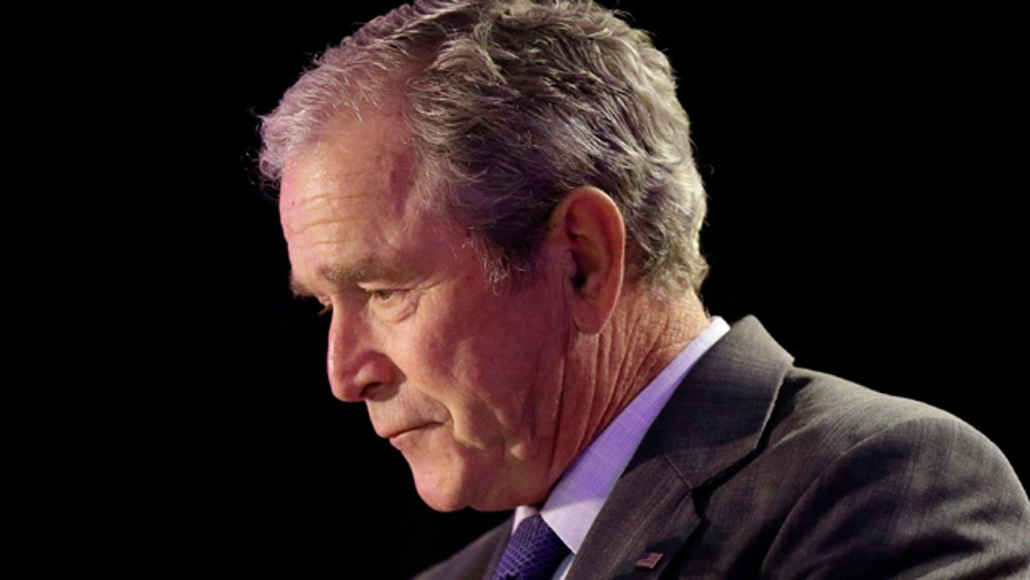 Bush: Katrina is story of loss, commitment and compassion