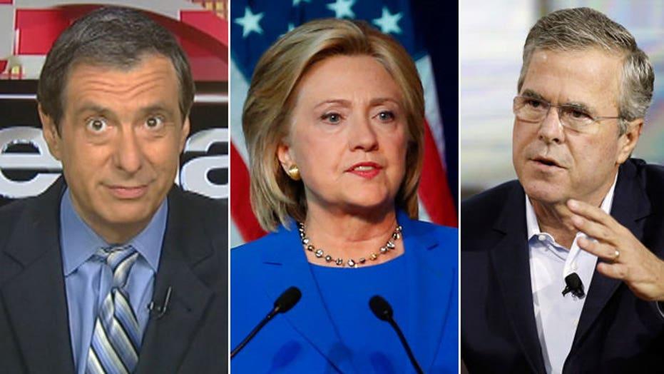 Kurtz: What happened to anointing Jeb & Hillary?