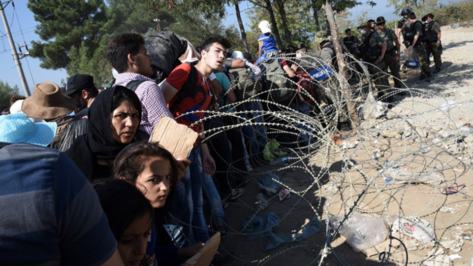 Europe struggling to handle migrants fleeing the Middle East