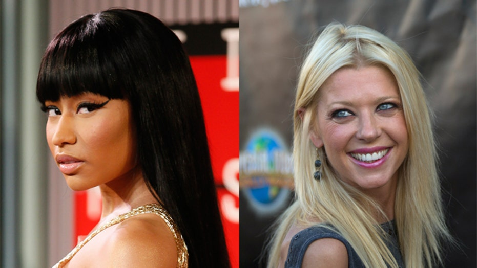 Nicki Minaj sent security after Tara Reid?