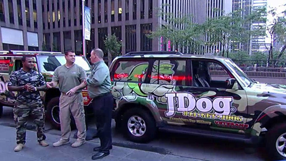 National junk removal company exclusively franchises to vets