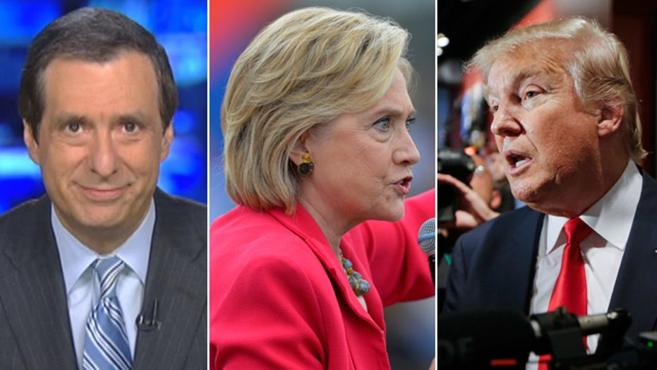 Kurtz: 'Unfavorability' trap for Clinton, Trump