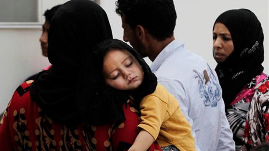 Europe struggles to respond as refugees flee Syria