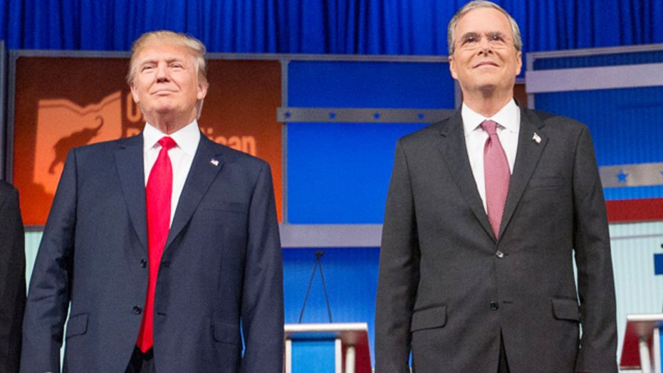 Is Jeb Bush ready to take on Donald Trump?