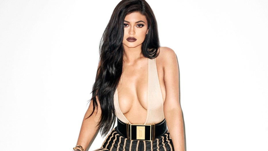 18-year-old Kylie Jenner showing too much?