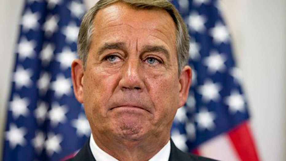Fight brewing over John Boehner's leadership position
