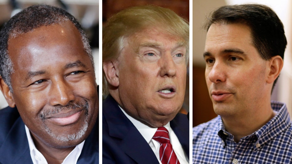 Do early poll favorites have staying power in 2016 race?