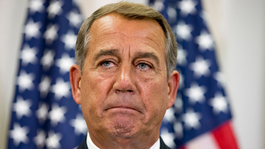 Is Speaker John Boehner's job at risk?