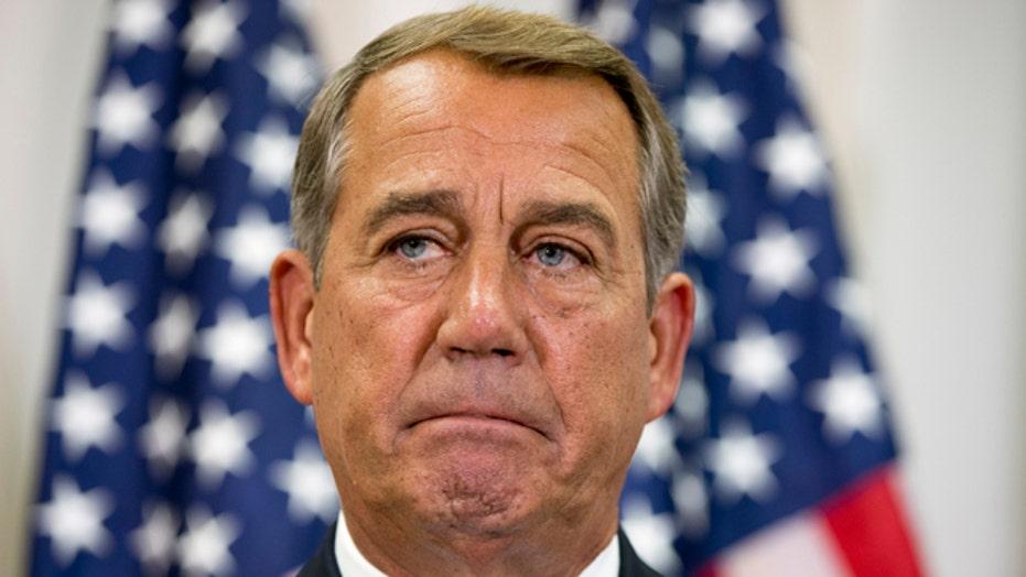 Is Speaker John Boehner's job at risk?