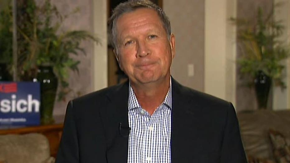 How Gov. John Kasich would handle the migrant crisis