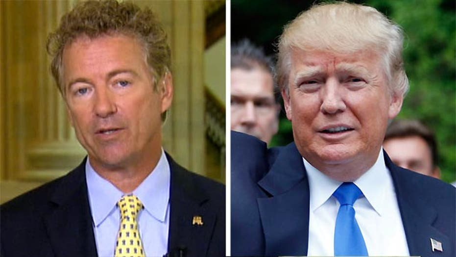 Rand Paul: Donald Trump is 'pretending' to be conservative