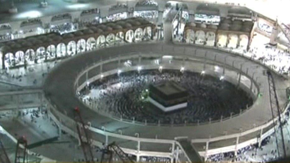 Deadly crane collapse at Mecca's Grand Mosque